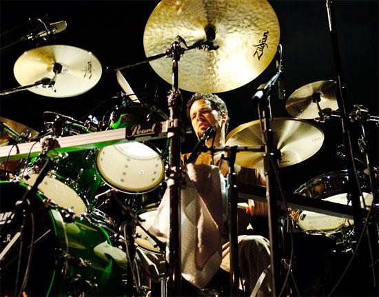 Dave dicenso cymbal setup