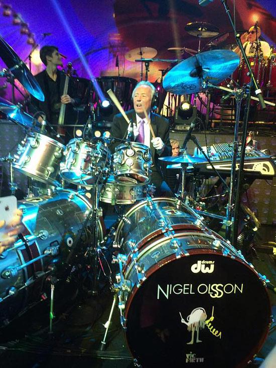 Nigel Olsson - DRUMMER...