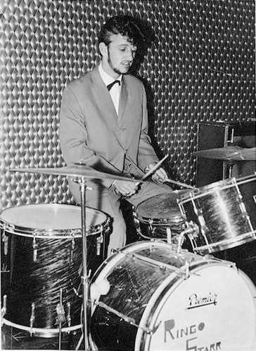 In The Beginnings Ringo Played PREMIER DRUMS