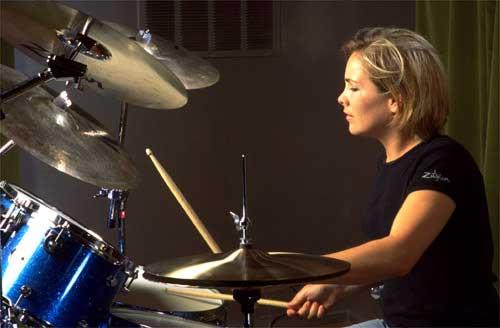 Drummerworld Hilary Jones