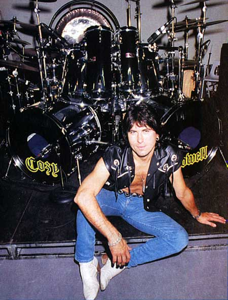 ACT COZY POWELL SET UPS