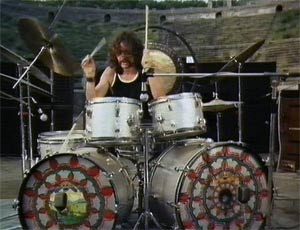 Nick Mason Drummerworld