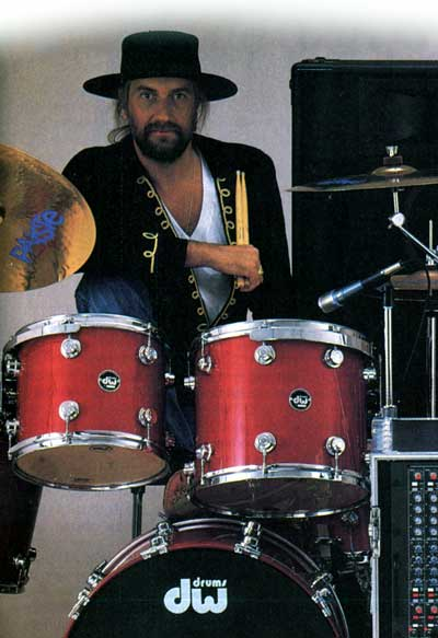 Mick Fleetwood Drummerworld