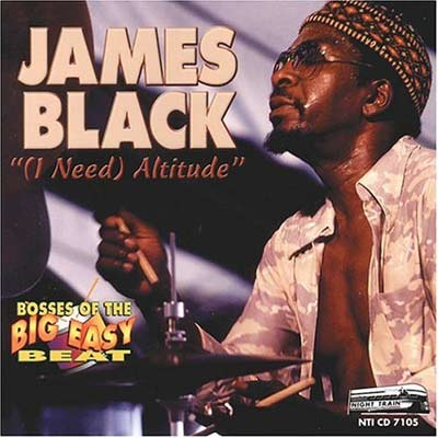 Album I Need Altitude by James Black