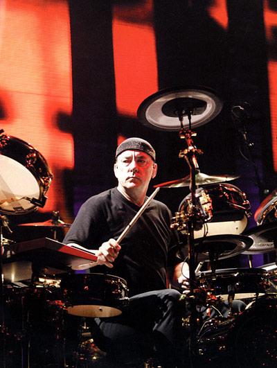 Neil Peart of Rush
