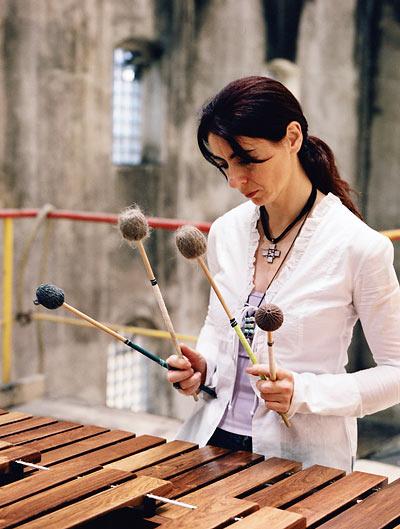 Vos percussionnistes préférés EvelynGlennie1