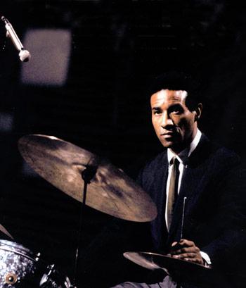 jazz drummer Max Roach