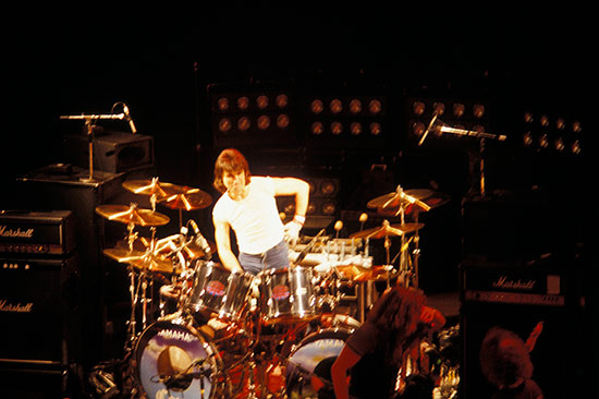 Cozy Powell Drummerworld