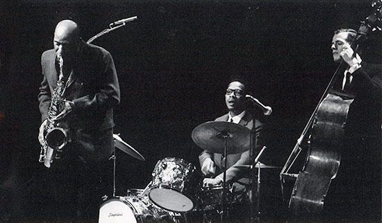 Brief, But Great Footage Here Of Drummer Alan Dawson Shown Here In Trio  With Sonny Rollins And Bassist Niels Henning Orsted Pedersen Playing On The  Rollins ...