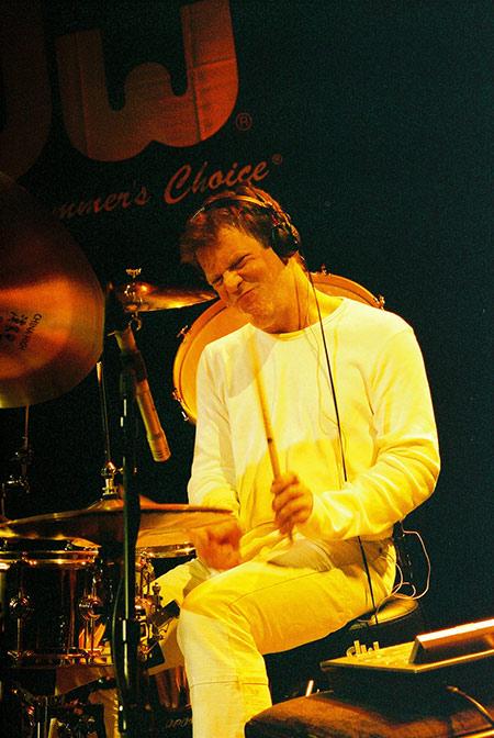 Gary Husband Drummerworld